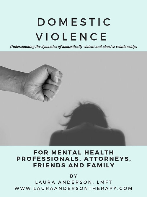 Domestic Violence Manual