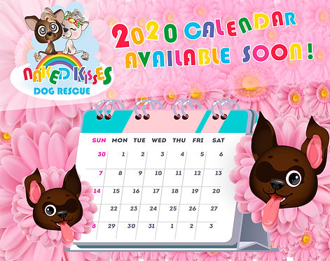 2021 Naked Kisses Calendar