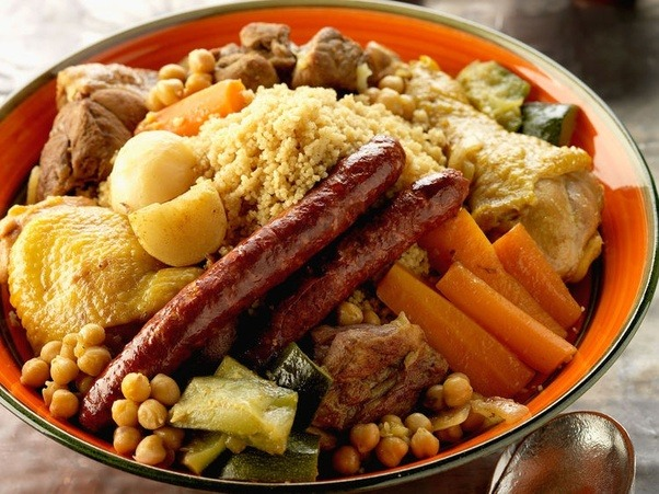 Couscous 3 meats