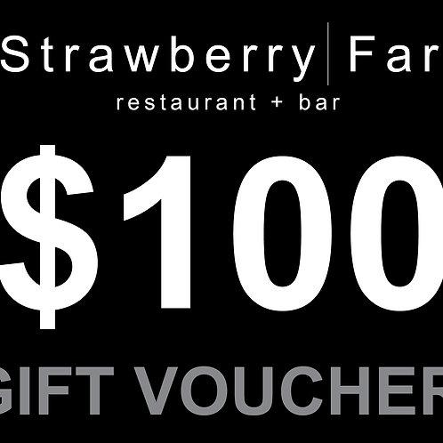Restaurant Voucher $100.00