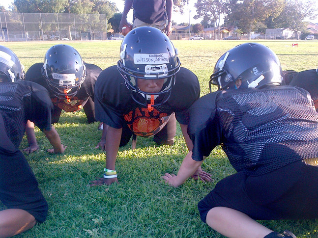 CSP and HACLA Partnership Starts First Ever HACLA Pee Wee Football Team