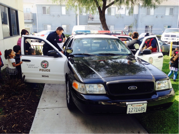 HEADSTART LAPD SHOW AND TELL