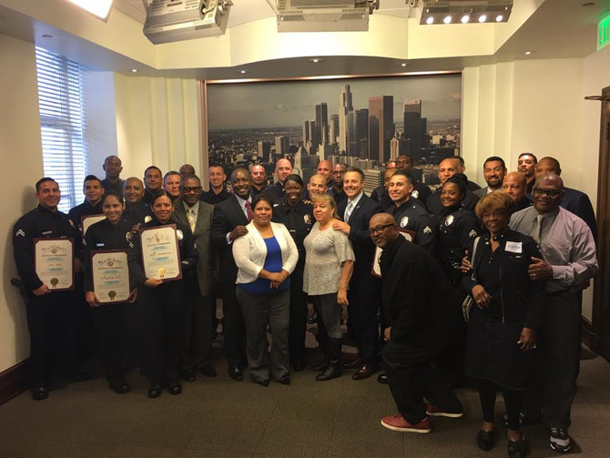 CSP Receives City Hall Recognition