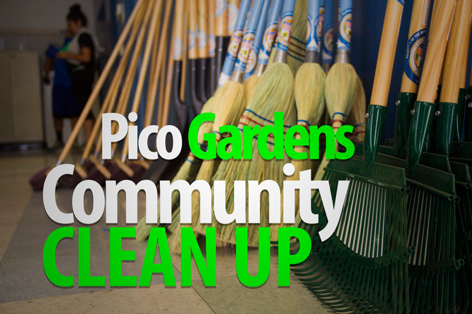 Pico Gardens Community Clean-Up