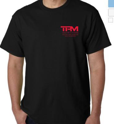 TPM T-Shirt - Short Black