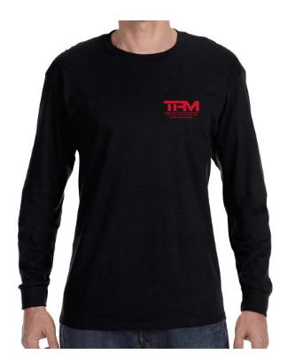 TPM T-Shirt - Long Black