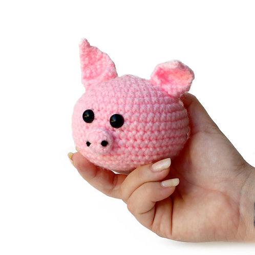 Pig stress and anxiety relief ball