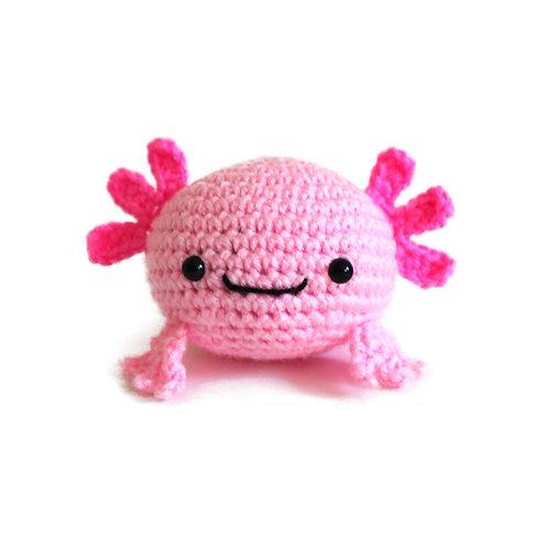 Axolotl Stress Ball Pattern