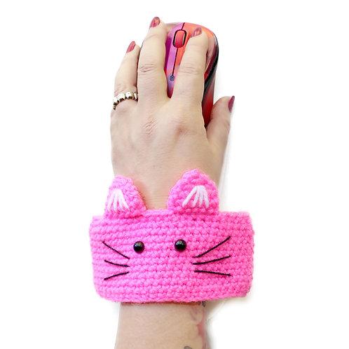 Wearable cat wrist rest