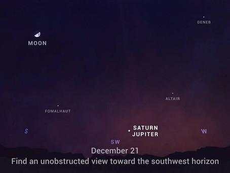 Great Jupiter-Saturn Conjunction of 2020