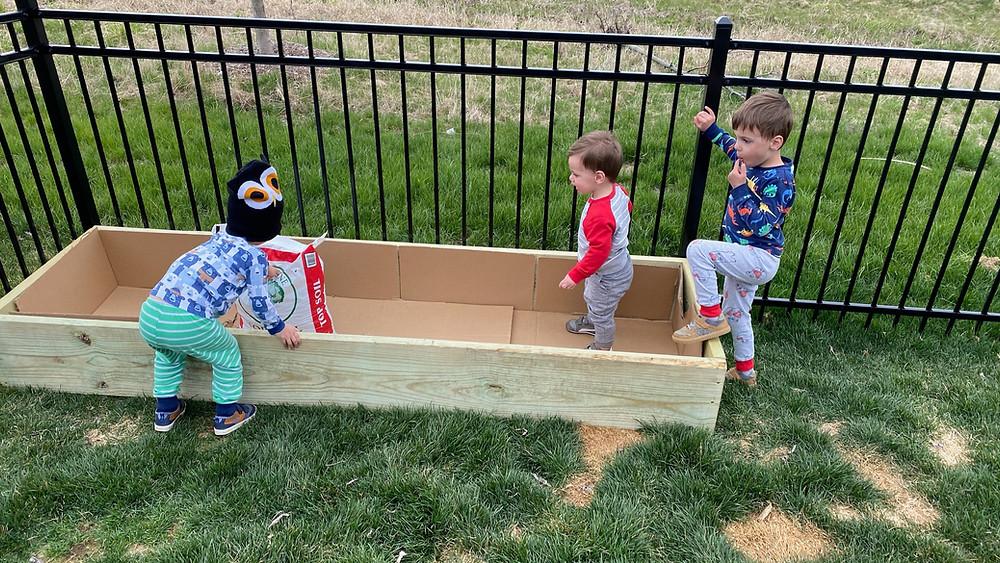 2x12x8 green treat ac2 diy raised garden bed box