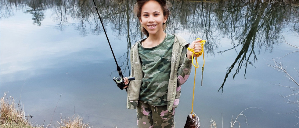 Kids Fishing for Trout