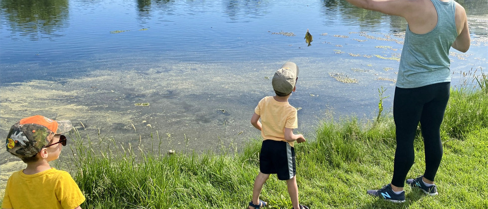 Kids Fishing with Mom.jpg
