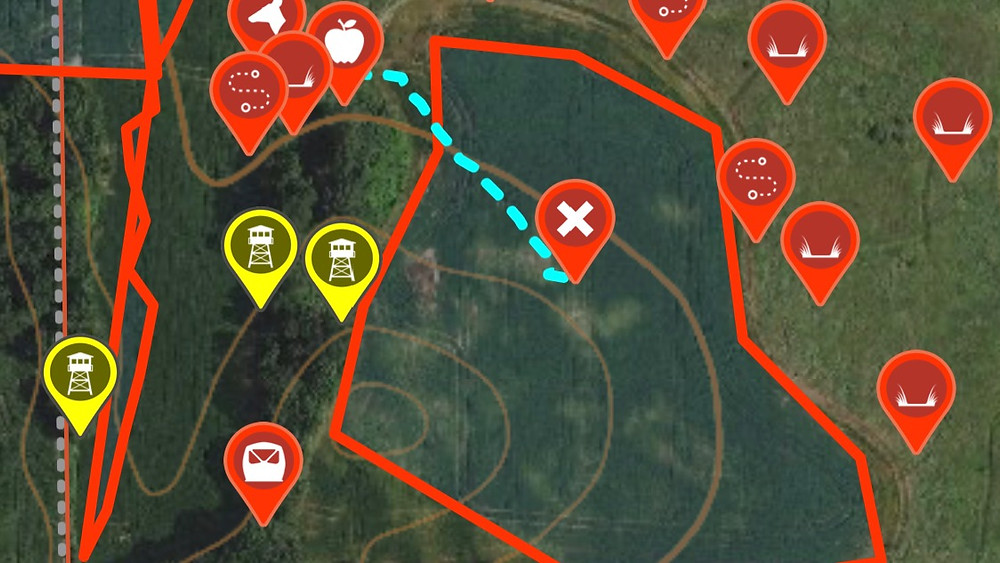 onX maps for hunting
