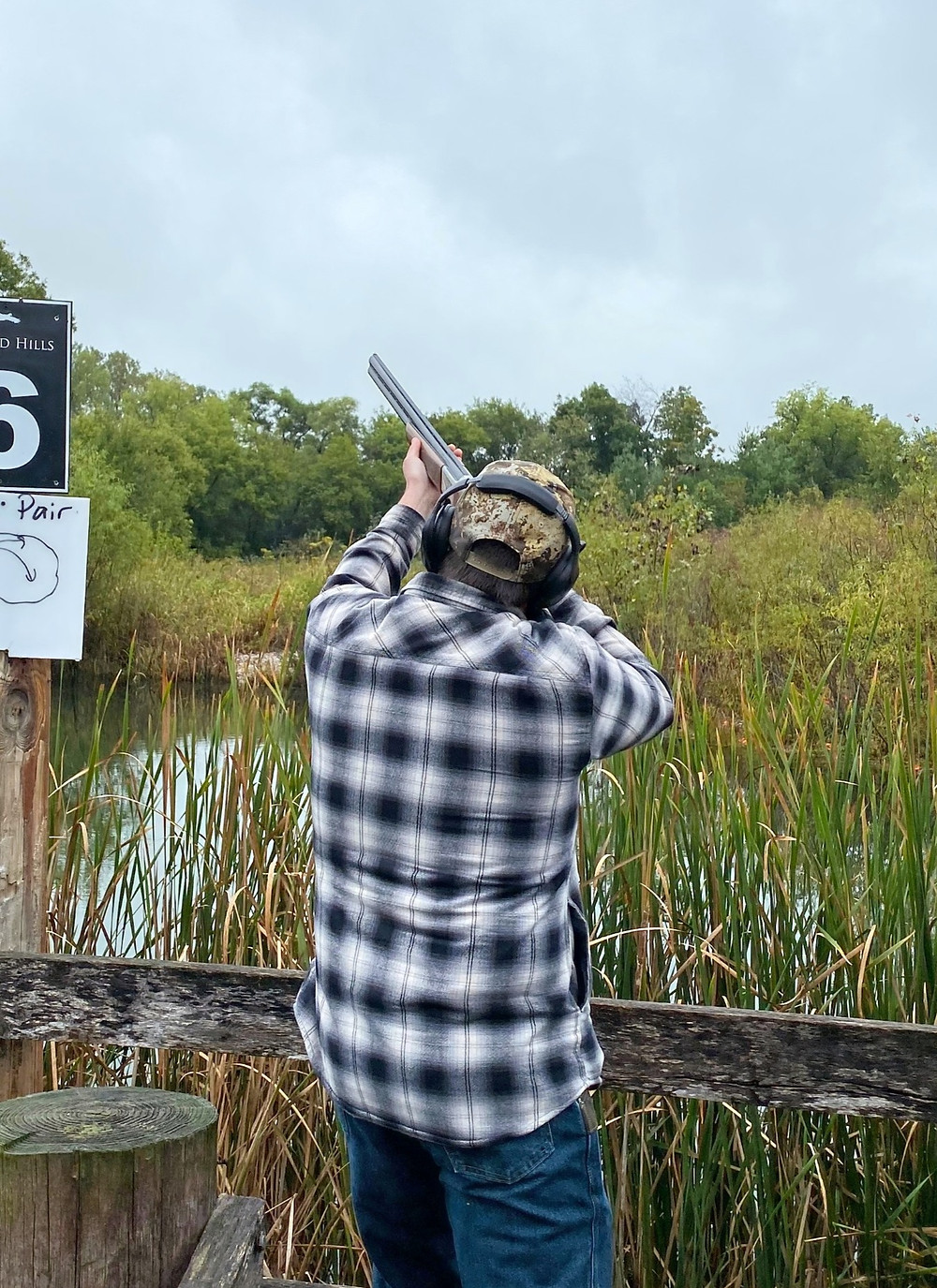 Sporting Clay shooting course