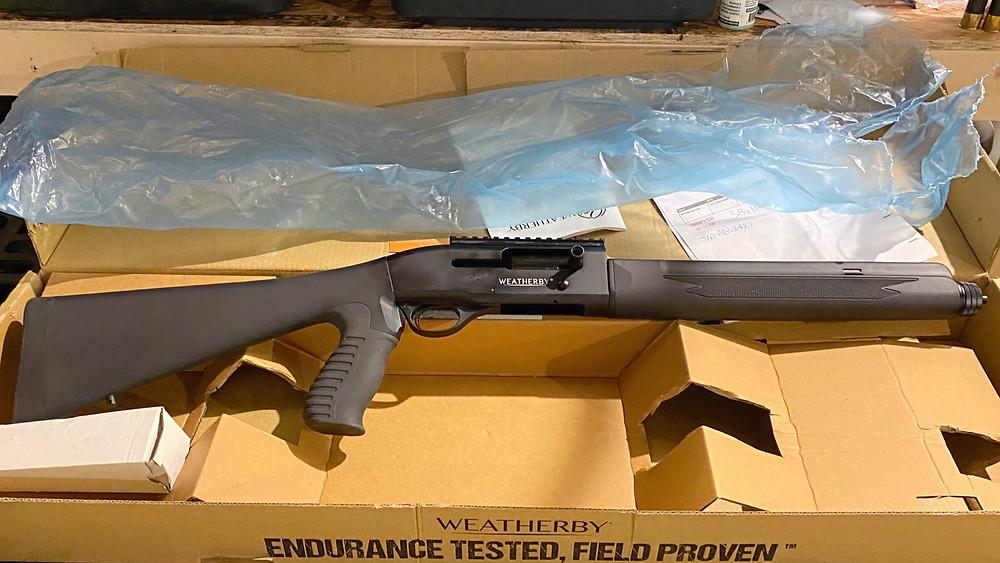 Weatherby sa-459 shotgun