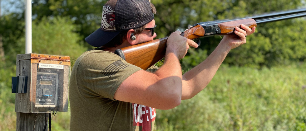 Shooting Clays with Weatherby Orion II.j