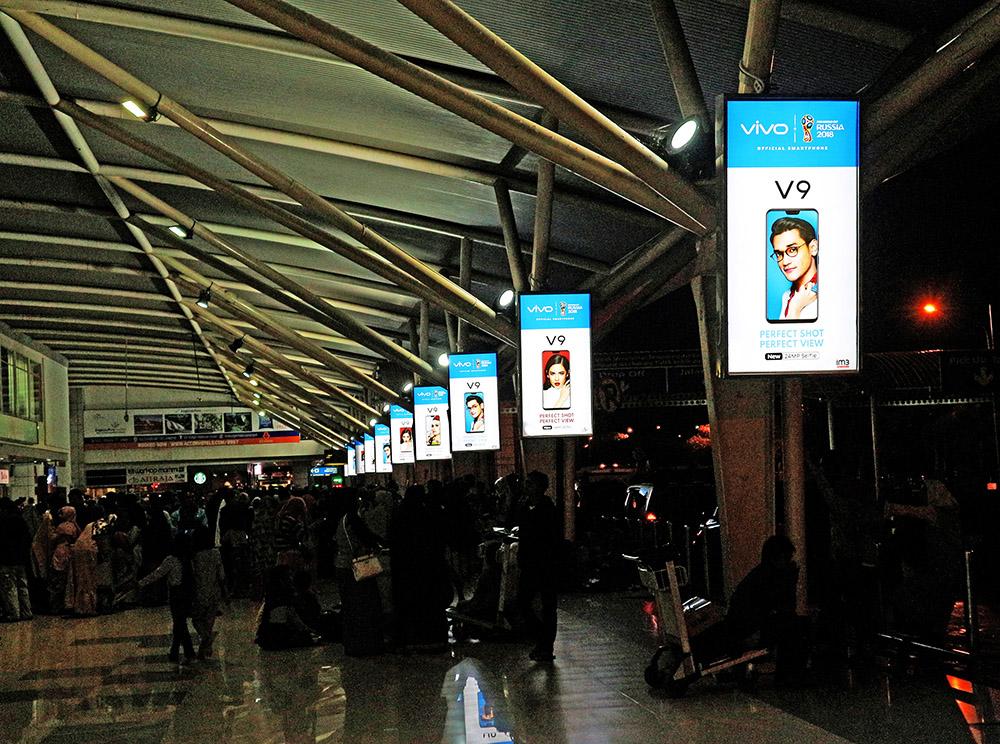Vivo - Sultan Hasanuddin International Airport Makassar (Drop off Area Departure)