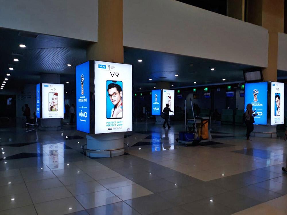 Vivo - Sultan Mahmud Badaruddin II Airport Palembang Check-In Area