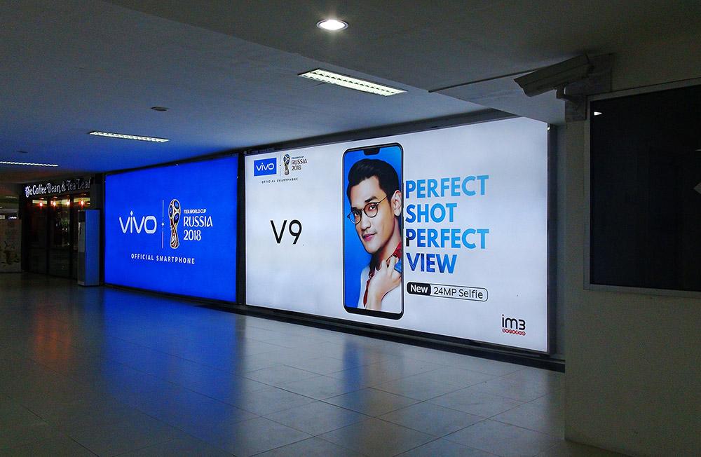 Vivo - Syamsuddin Noor International Airport Banjarmasin(Boarding Lounge Area Garuda Departure)