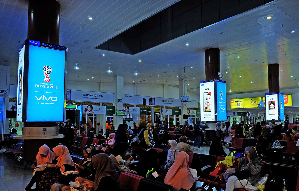 Vivo - Sultan Syarif Kasim II International Airport Pekanbaru (Boarding Lounge Area)