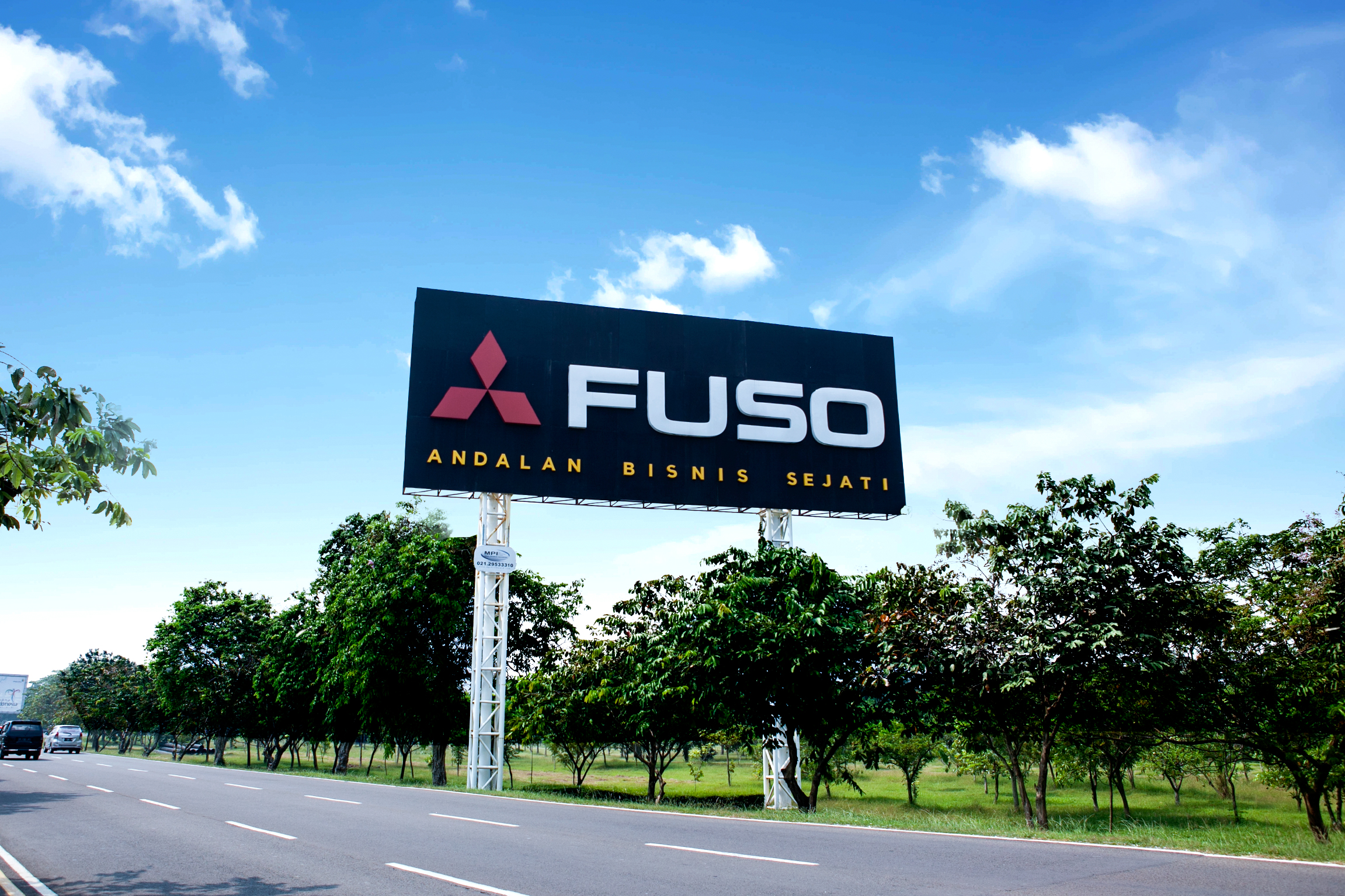 Fuso - Soekarno Hatta International Airport Jl P2