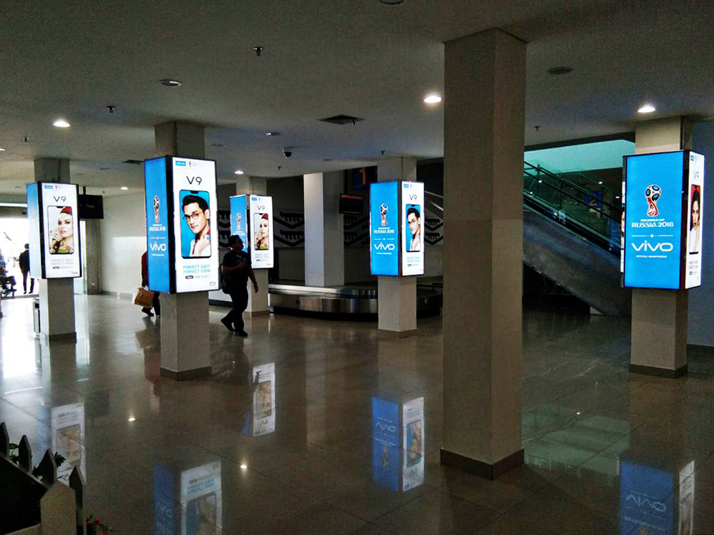 Vivo - Radin Inten II Airport Lampung (Departure Area)