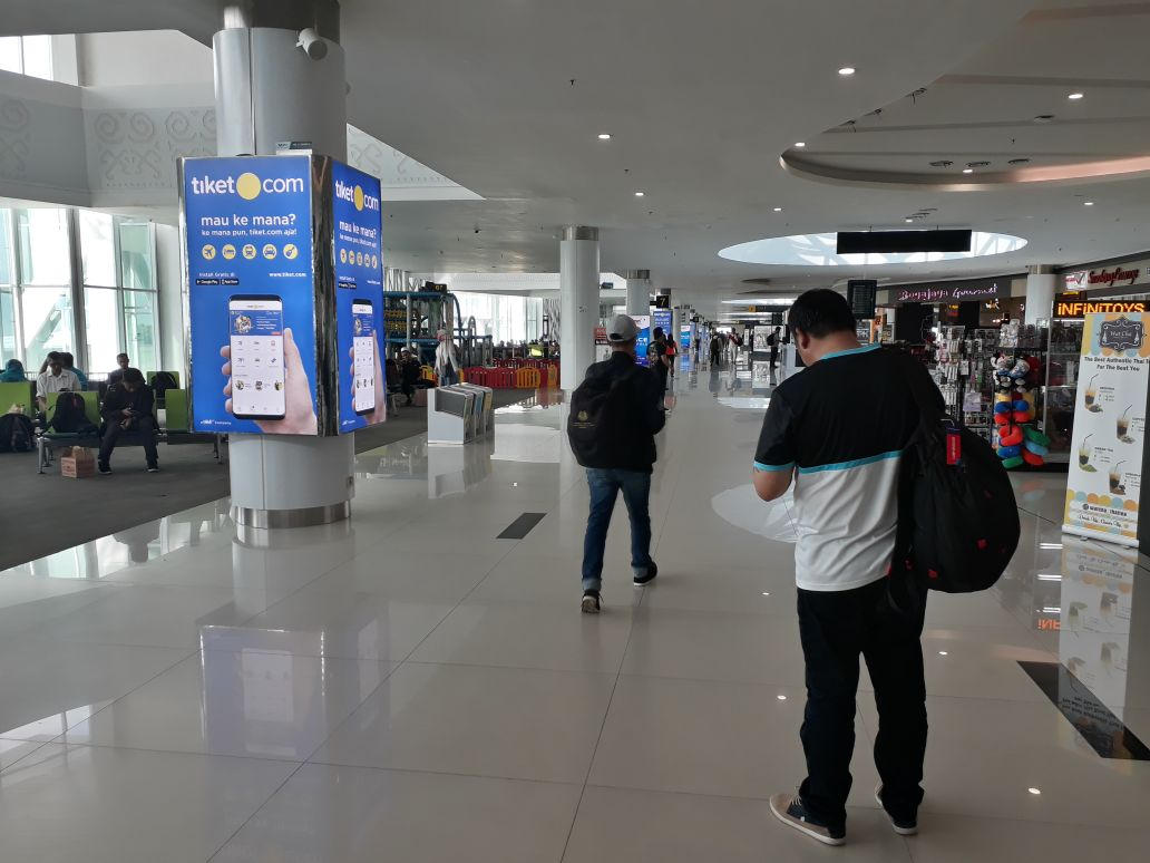 SAMS Sepinggan International Airport Balikpapan - Front of Boarding Lounge 1