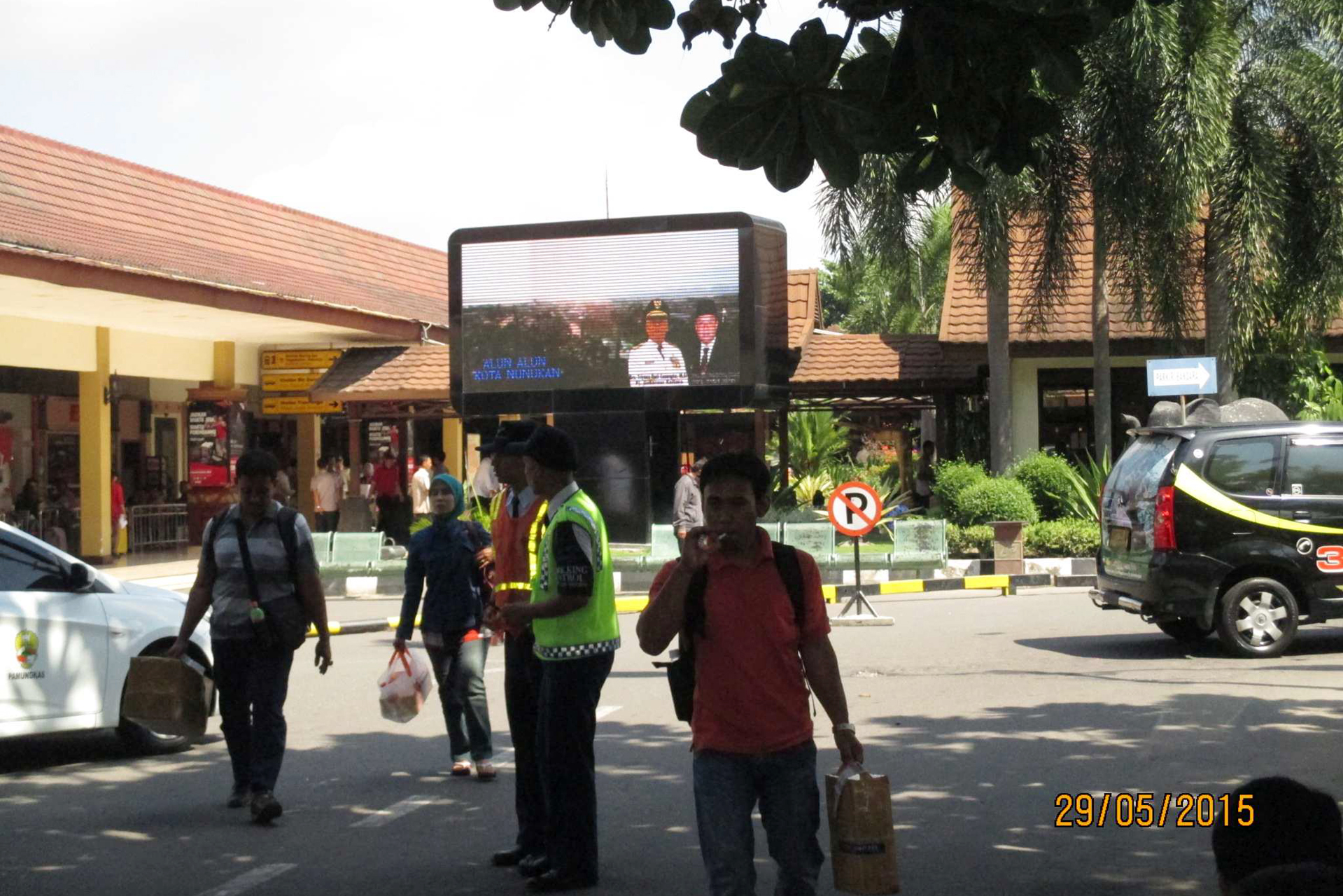 Pemprov Kalimantan Utara - LED Keberangkatan bandara  Adisucipto Yogyakarta