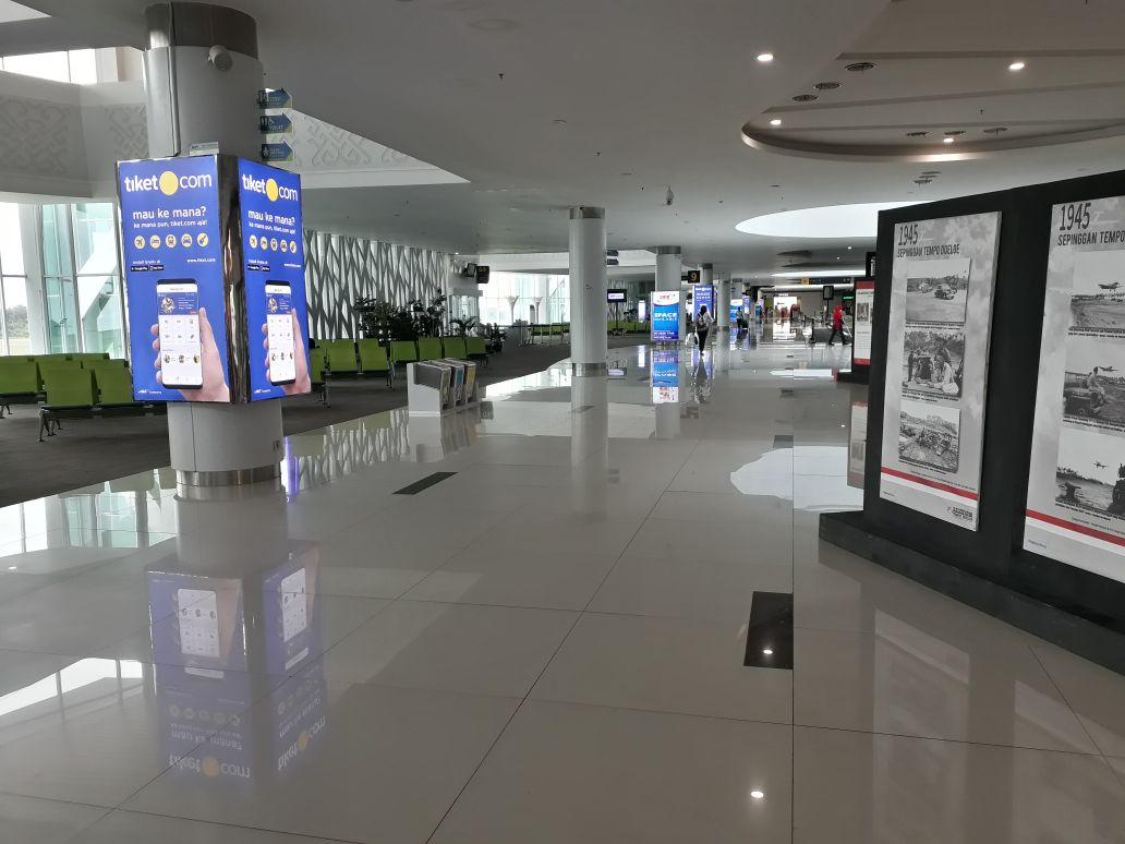 SAMS Sepinggan International Airport Balikpapan - Front of Boarding Lounge 2