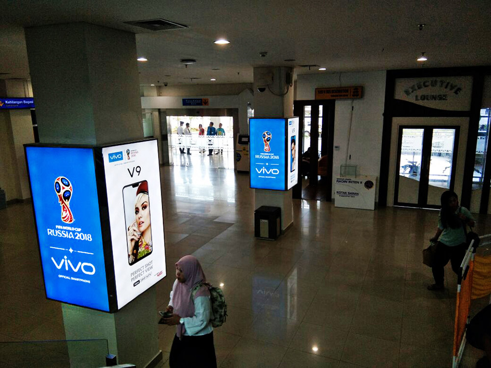 Vivo - Radin Inten II Airport Lampung (Departure Area 2)