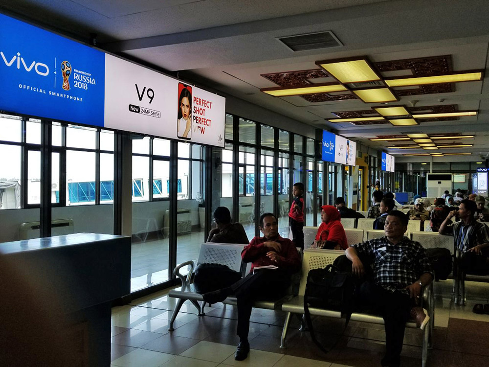 Vivo - Minangkabau International Airport Padang (Boarding Lounge Area)