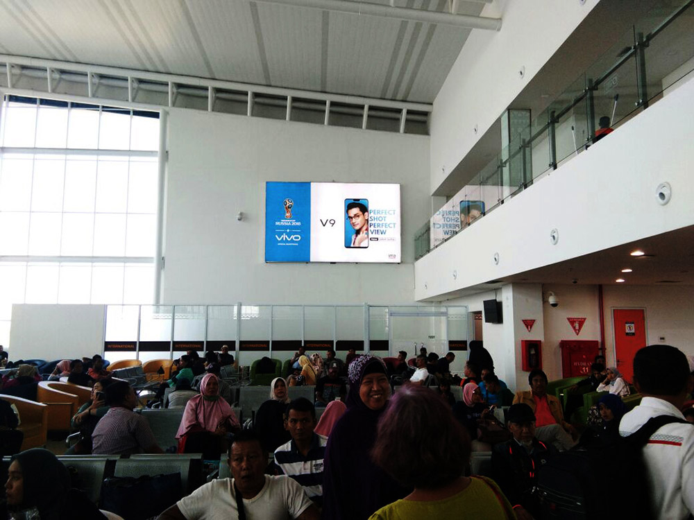 Vivo - Radin Inten II Airport Lampung (Boarding Lounge Area)