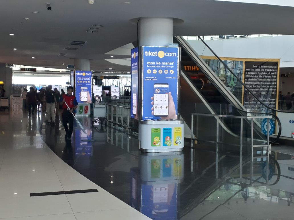 SAMS Sepinggan International Airport Balikpapan - Before Security Check Point 1 Right