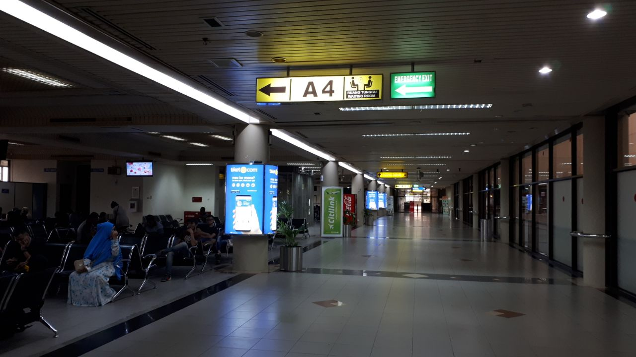 Hang Nadim Intenational Airport Batam - Front of Gate A4