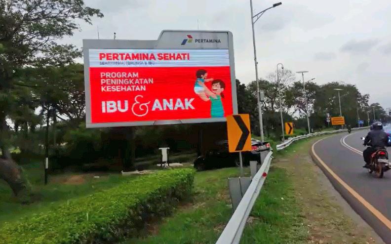 Pertamina - LED Jl P1 bandara Soekarno Hatta.jpg