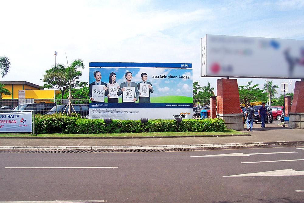 Bank Mandiri - (Billboard) - PL T2 Bandara Soetta