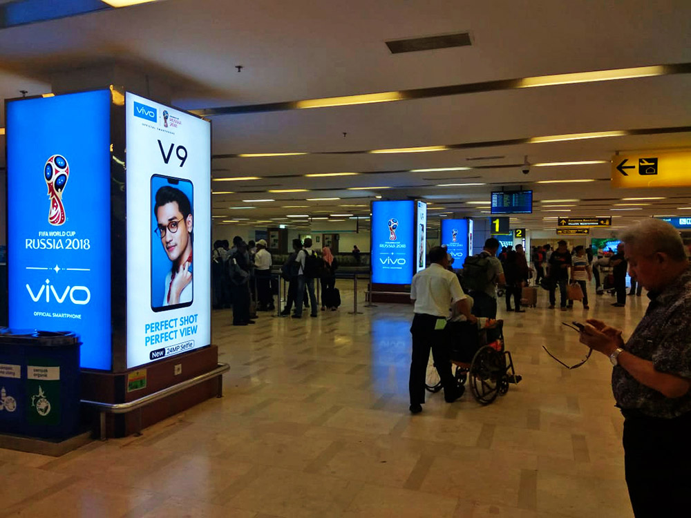Vivo - Minangkabau International Airport Padang (Departure Area )