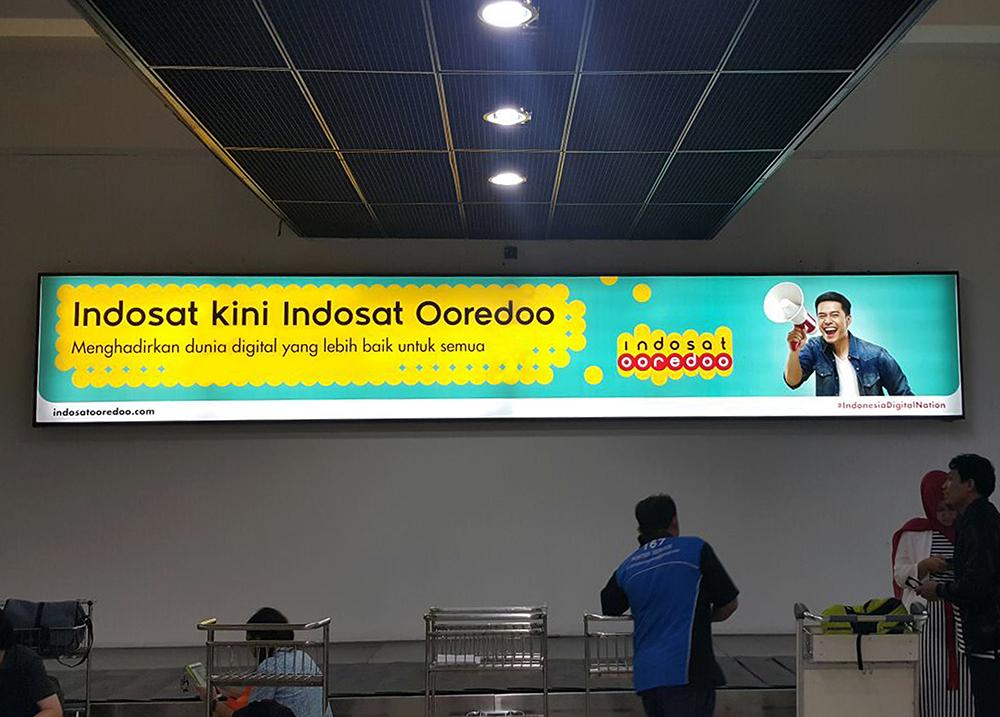 Indosat Ooredoo- Terminal 2E Bandara Soekarno Hatta Jakarta