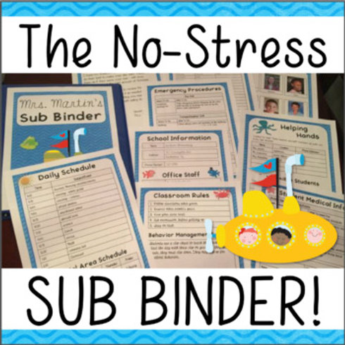 The No Stress Substitute Binder