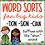 Thumbnail: Suffixes Worksheet and Word Sorts TION SION CIAN