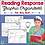 Thumbnail: Reading Response Graphic Organizers for Fiction and Non-Fiction