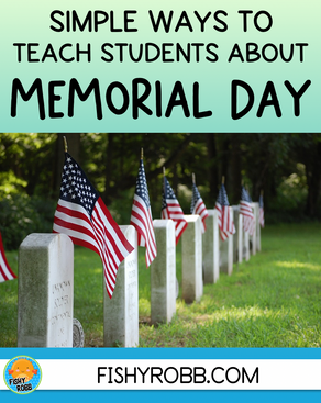 2 Simple Ways to Teach Students About Memorial Day