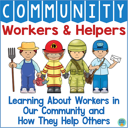 Community Workers and Helpers Kindergarten PreK