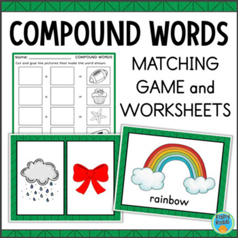 Compound Words Worksheets and Game