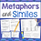 Thumbnail: Similes and Metaphors - Figurative Language Task Cards & Worksheets