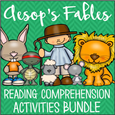 Aesop's Fables Reading Comprehension BUNDLE