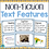 Thumbnail: Non-Fiction Text Features Posters