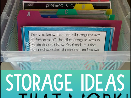 Task Card Storage Ideas That Work - And Some That Don't
