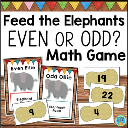 Even and Odd Numbers Math Game